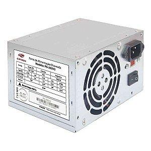 Fonte de alimentação ATX 200W C3Tech PS-200V3