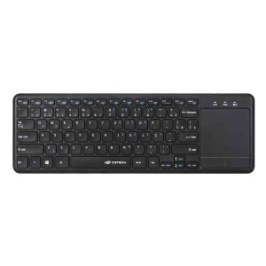 Teclado com touchpad wireless C3Tech K-WT100BK