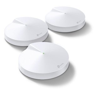 Roteador wireless Mesh AC1300 1267 Mbps TP-Link Deco M5 (3 Pack)
