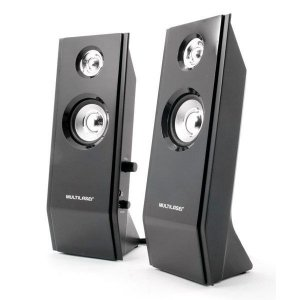 Speaker 2.0 Multilaser Shadow SP091 USB