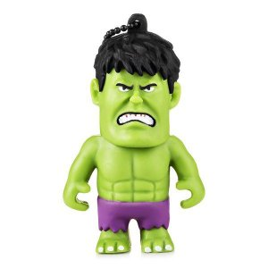 Pen drive 8 Gb Multilaser Marvel Hulk PD082