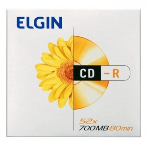 CD-R Elgin 700MB 52x - 1 Unidade (82053)