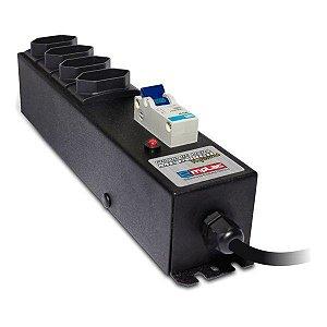Filtro de linha 20A com disjuntor Emplac F50191
