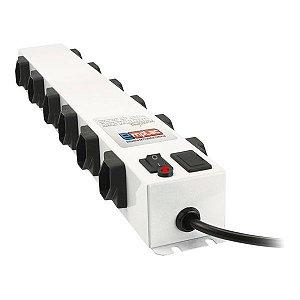 Filtro de linha metálico profissional 12 tomadas Emplac (F50103)