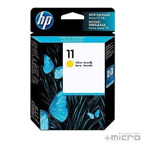 Cartucho de tinta HP 11 (C4838A) amarelo 28 ml