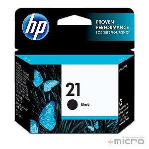 Cartucho de tinta HP 21 (C9351AB) preto 7 ml
