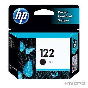 Cartucho de tinta HP 122 (CH561HB) preto 2 ml