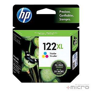Cartucho de tinta HP 122XL (CH564HB) preto 7,5 ml