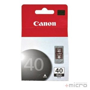 Cartucho de tinta Canon PG-40 preto