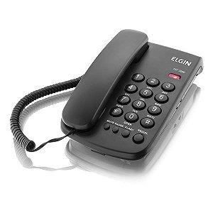 Telefone com fio Elgin TCF 2000 preto