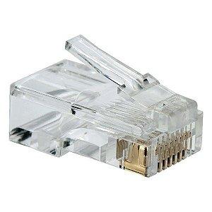 Conector RJ45 8x8 Categoria 6 ChipSCE (062-0046) - Embalagem com 100 unidades