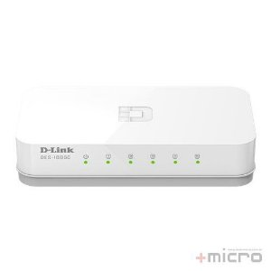 Switch Ethernet 5 portas 10/100 Mbps D-Link DES-1005C