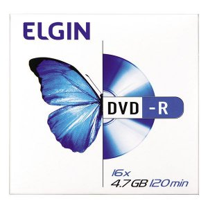 DVD-R Elgin 4.7 Gb 120 min - Envelope (82099)