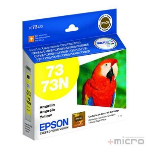 Cartucho de tinta Epson T073420-BR amarelo 5 ml