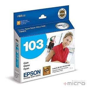 Cartucho de tinta Epson T103220-BR ciano 11 ml
