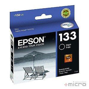 Cartucho de tinta Epson T133120-BR preto 7 ml