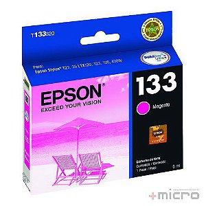 Cartucho de tinta Epson T133320-BR magenta 5 ml