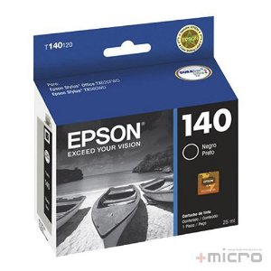 Cartucho de tinta Epson T140120-BR preto 25 ml