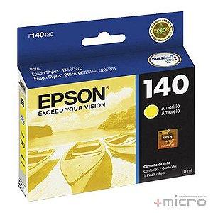 Cartucho de tinta Epson T140420-AL amarelo 10 ml