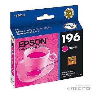 Cartucho de tinta Epson T196320-BR magenta 4 ml
