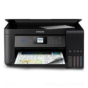 Impressora multifuncional wireless tanque de tinta Epson EcoTank L4160