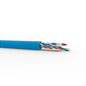 Cabo de rede Ethernet Cat 6 305 metros Furukawa SOHO Plus azul (23400174)