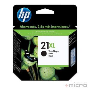 Cartucho de tinta HP 21XL (C9351CB) preto 16 ml