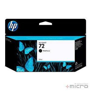 Cartucho de tinta HP 72 (C9403AB) preto 130 ml