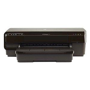 Impressora wireless jato de tinta HP OfficeJet 7110 (CR768A)