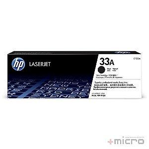 Toner HP 33A (CF233A) preto