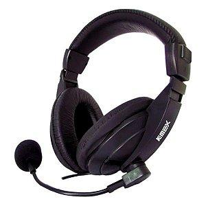Headset K-MEX ARS-7500 preto