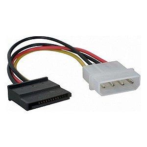 Cabo de força SATA Plus Cable PC-STF015