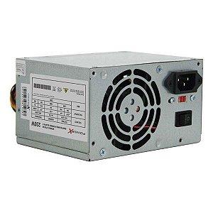 Fonte de alimentação ATX 230W reais Power X PX230 com Cabo