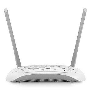 Modem ADSL2+ roteador wireless N 300 Mbps TP-Link TD-W8961N