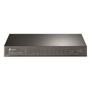 Switch Smart Gigabit PoE de 8 Portas com 2 Slots SFP Jetstream TP-Link T1500G-10PS (TL-SG2210P)