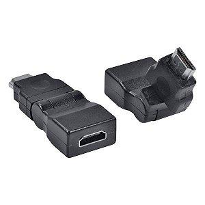 Adaptador HDMI F x HDMI M 360° Vinik AHHF-A360 (23572)