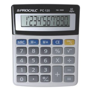 Calculadora de mesa CH Tech Procalc PC120 10 dígitos