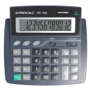 Calculadora de mesa CH Tech Procalc PC123 12 dígitos