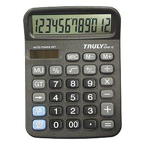 Calculadora de mesa CH Tech Truly 836B-12 12 dígitos