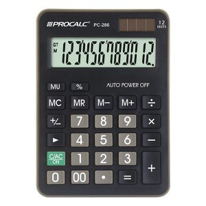 Calculadora de mesa CH Tech Procalc PC286 12 dígitos