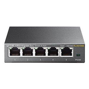 Switch Ethernet 5 portas Gigabit TP-Link Easy Smart TL-SG105E