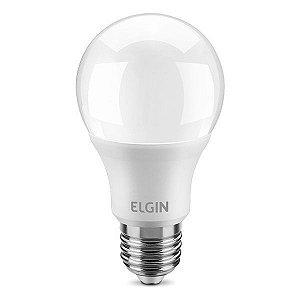 Lâmpada LED A60 9W Bivolt 6500K Elgin (48BLED2F09YU)