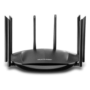 Roteador wireless gigabit AC2600 2600 Mbps Multilaser RE016
