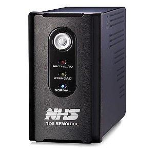 Nobreak NHS Mini Senoidal 600VA 1x7Ah Entrada Bivolt/Saída 120V (91.A0.006000)