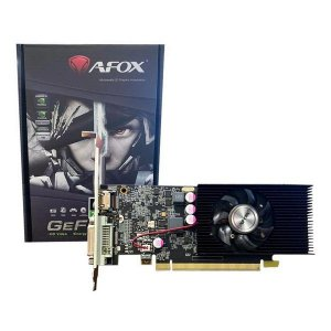 Placa de vídeo PCI-E AFOX nVIDIA GeForce GT 1030 2 Gb GDDR5 64 Bits (AF1030-2048D5L7)