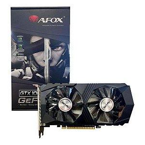 Placa de vídeo PCI-E AFOX nVIDIA GeForce GT 1050TI 4 Gb GDDR5 128 Bits (AF1050TI-4096D5H5)