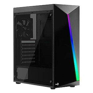 Gabinete gamer Aerocool Shard RGB (67989)