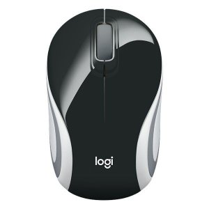 Mouse mini wireless Logitech M187 preto (910-005459)