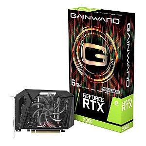 Placa de vídeo PCI-E Gainward nVIDIA RTX 2060 6 Gb GDDR6 192 Bits (NE62060018J9-161F)