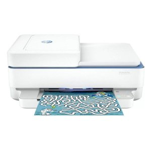 Impressora multifuncional wireless jato de tinta HP DeskJet Plus Ink Advantage 6476 (5SD79A)